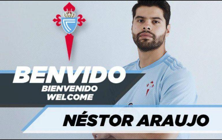 Néstor Araujo, Oficial — Fichajes Celta