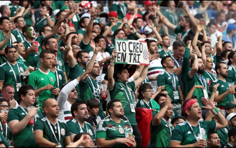 SELECCIÓN MEXICANA: Multan a FMF por grito de la afición mexicana
