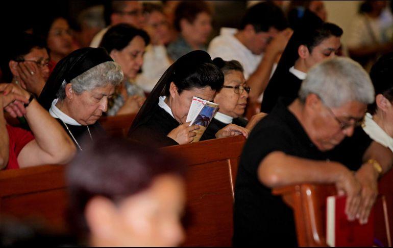 El protocolo se implementa para buscar la protección de la comunidad católica religiosa, con instrucciones para aplicar planes preventivos. EL INFORMADOR / ARCHIVO