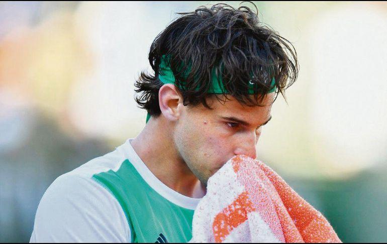 Dominic Thiem se despidió del torneo de Halle