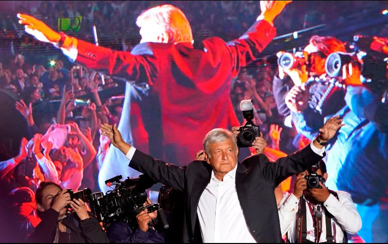 AMLO, el primer candidato en ir a votar [FOTOS — Elecciones en México