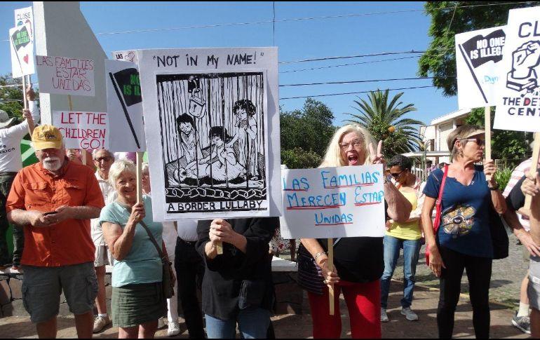 La comunidad norteamericana de Chapala seguirá firme en presionar para que el gobierno de Estados Unidos cambie su política. ESPECIAL /