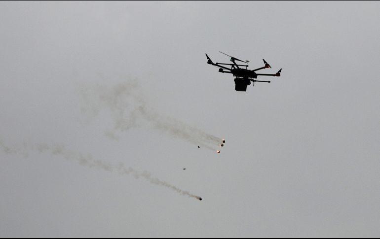 Rusia destruye drones cerca de base aérea en Siria