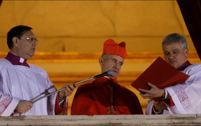 Murió el cardenal que anunció el nombramiento del papa Francisco
