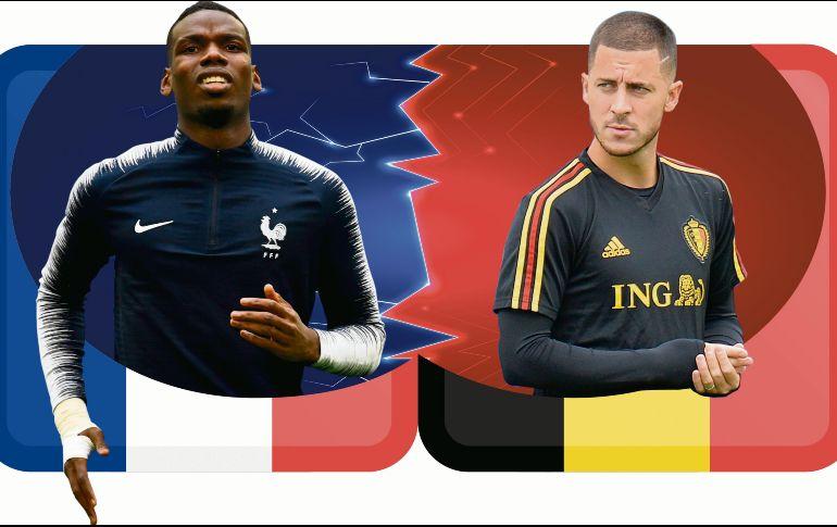 Pronóstico: Francia y Bélgica se enfrentan por semifinales del Mundial Rusia 2018