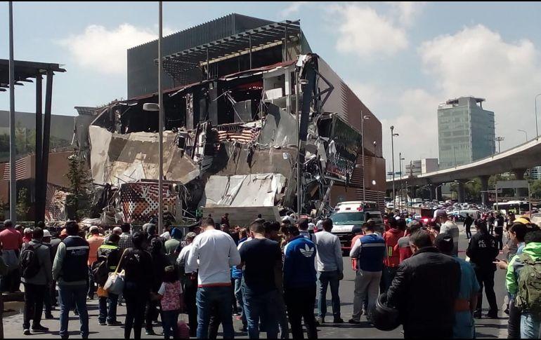 Se derrumba un centro comercial recién inaugurado en México — Vídeo