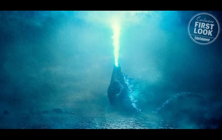 King of the Monsters muestra el aliento atómico del kaiju — Godzilla