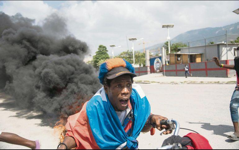 Se agudiza crisis en Haití. Senadores piden renuncia del primer ministro haitiano
