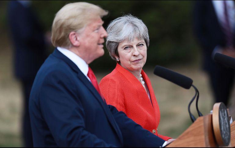 Trump tilda a la Unión Europea, China y Rusia de