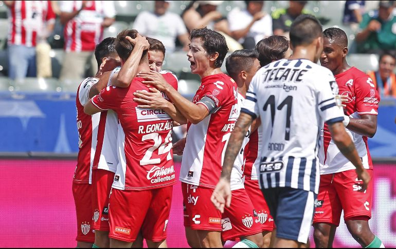 Monterrey vs. Necaxa - Reporte del Partido - 15 julio, 2018