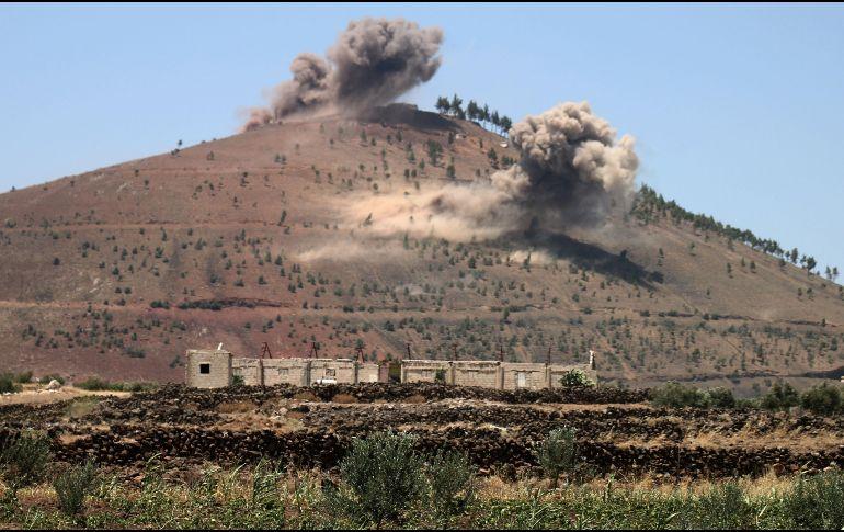 Israel lanza un ataque aéreo contra un aeropuerto militar en Alepo