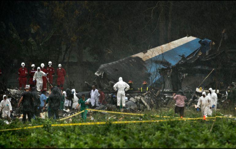 Causas del accidente de aviación en Cuba todavía no están determinadas