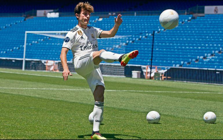 Álvaro Odriozola, un pura sangre para el Real Madrid