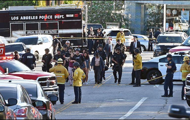 Trump atento a toma de rehenes en Los Ángeles