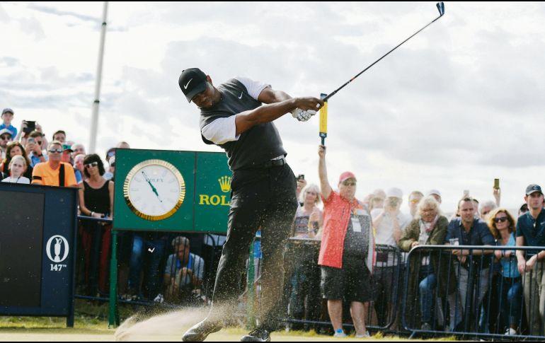 Kevin Kisner domina el Abierto Británico de Golf