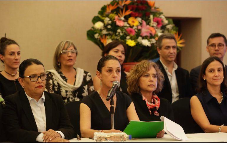 La nueva jefa de gobierno Claudia Sheinbaum presentó a gabinete