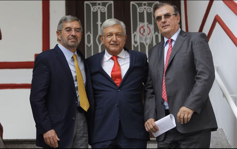 AMLO propone a Juan Ramón de la Fuente como embajador ante ONU