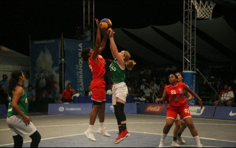 Mexicanas avanzan a cuartos de final en baloncesto 3x3