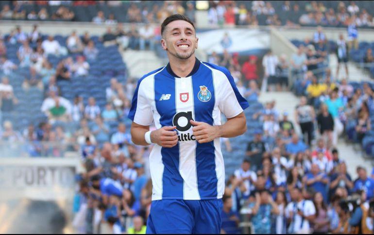 Héctor Herrera se iría a la Roma en invierno