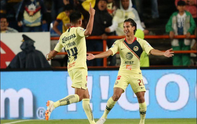 América vence a Pachuca con doblete de Diego Lainez