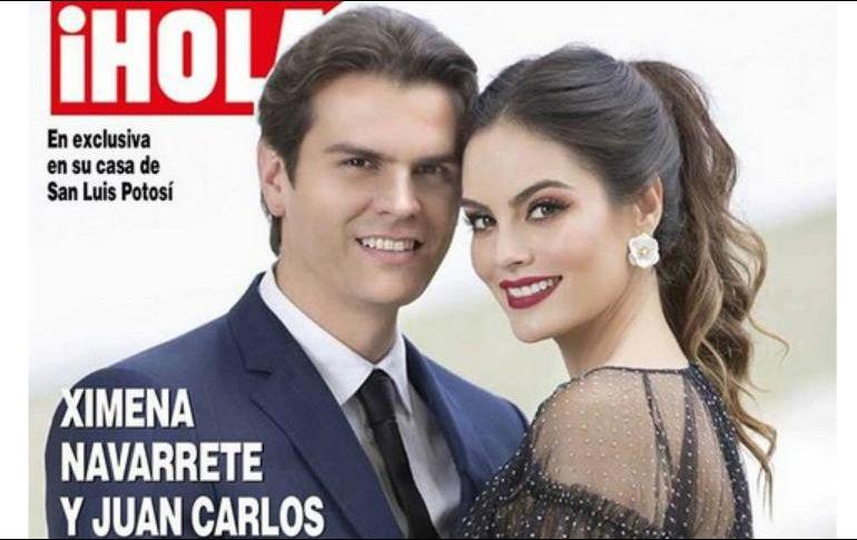 Espera Ximena Navarrete a su primer hijo