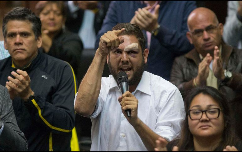 Difunden video del detenido diputado Juan Requesens — Venezuela