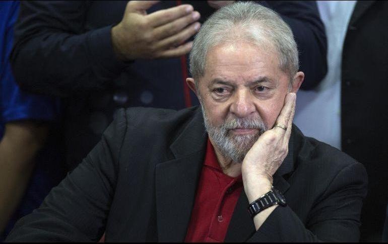Luiz Ignacio Lula da Silva aún lidera las encuestas de voto. EFE /ARCHIVO