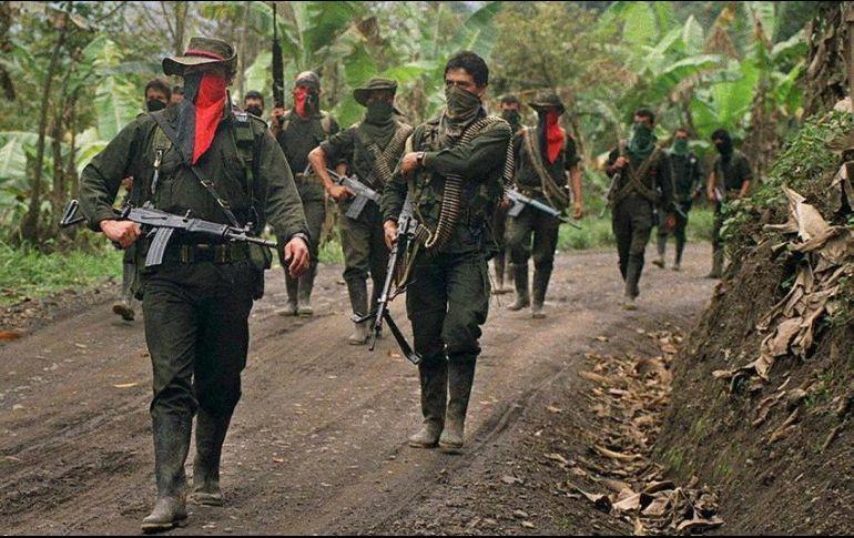 Con unos mil 500 combatientes el ELN negociaba un acuerdo de paz con el gobierno del expresidente Juan Manuel Santos desde febrero de 2017. AFP  ARCHIVO