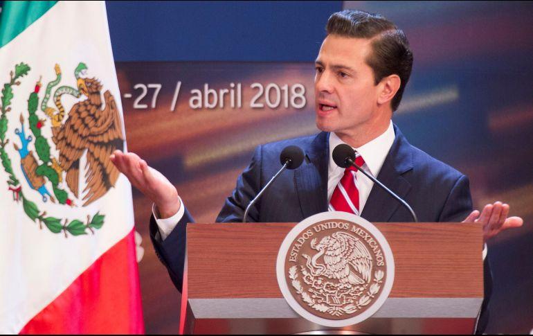 Peña Nieto destaca cifra histórica en creación de empleos; 3.7 millones
