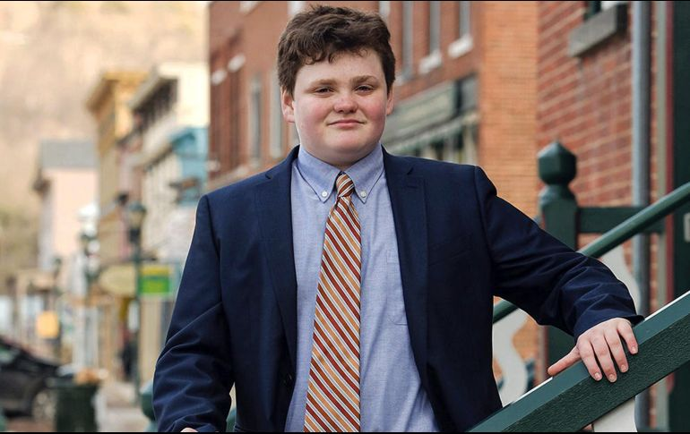 Candidato a gobernador con solo 14 años