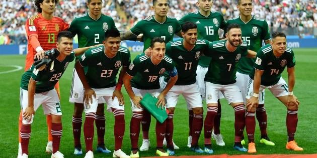 Tras Rusia, México baja un lugar en el ranking de la FIFA