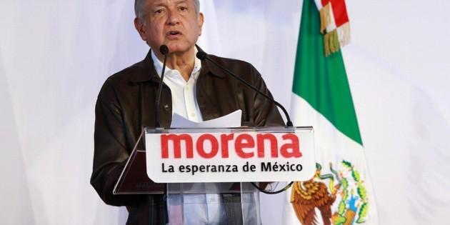 """López Obrador pide a Morena no """"encaramarse en el poder"""""""