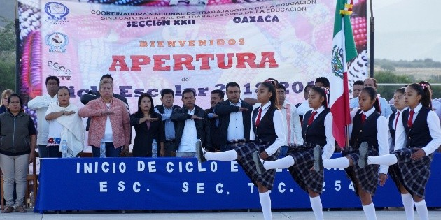 La CNTE rechaza nuevo modelo educativo en Oaxaca