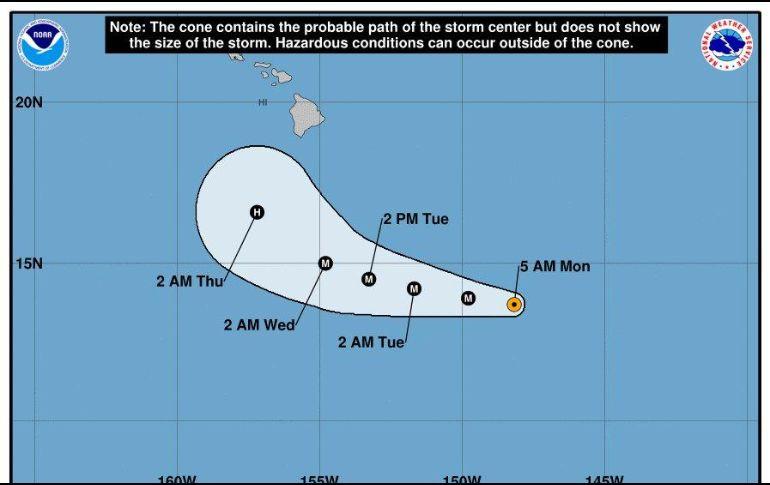 Huracán Lane causa inundaciones y deslaves mientras se aproxima a Hawái