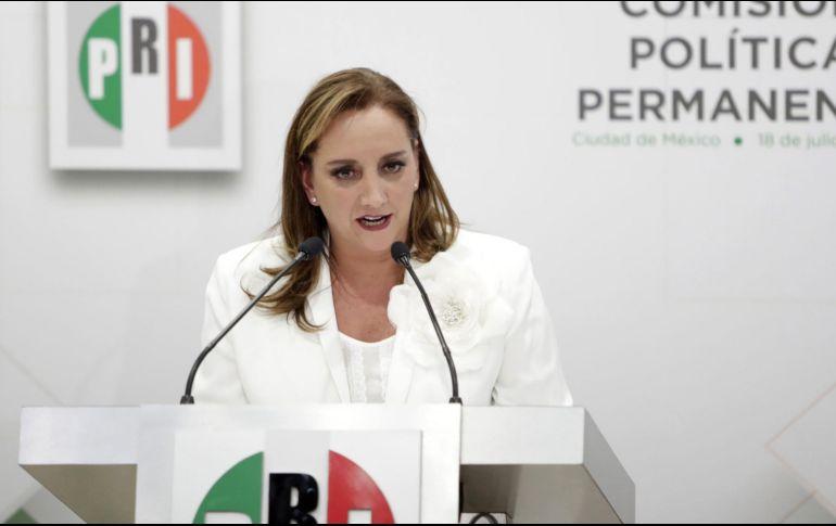 Ruiz Massieu buscaría concluir, en 2019, el periodo de cuatro años que inició Manlio Fabio Beltrones en 2015. EL INFORMADOR / ARCHIVO