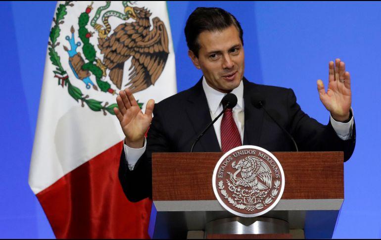 Trump pronostica que acuerdo comercial con México