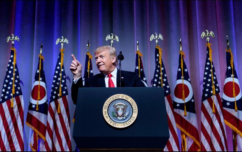 Trump advierte ''cambios violentos'' si pierde elecciones de noviembre