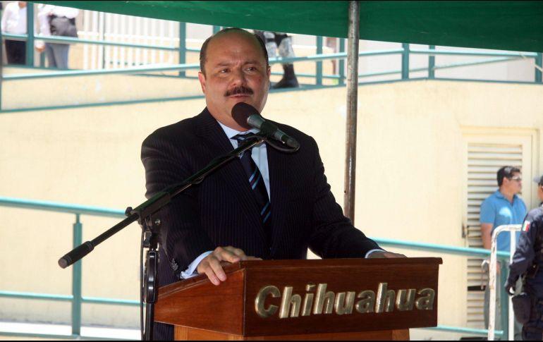 Duarte enfrenta cargos por presunto desvío de recursos. NTX/ARCHIVO