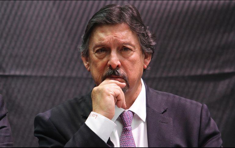 Gómez Urrutia detalló que sólo ha hablado con López Obrador, pero confía en que pronto se podrá reunir con él. NTX / G. Granados