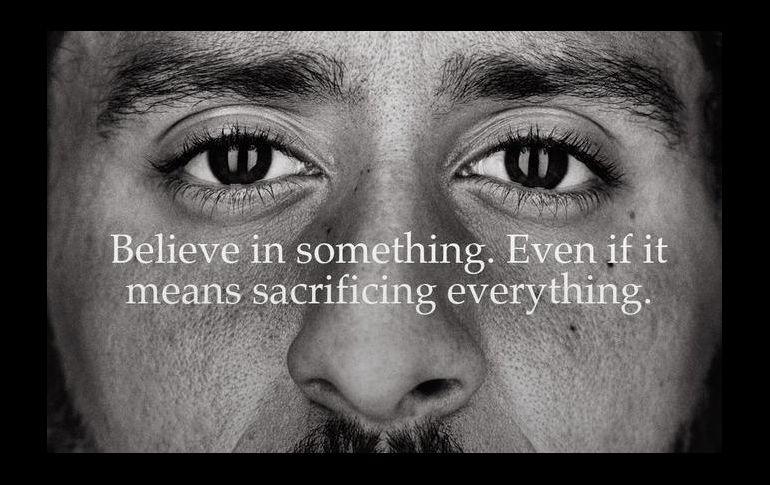Colin Kaepernick lidera la nueva campaña de 30 años de Nike