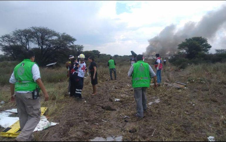 Accidente Aeroméxico en Durango no fue provocado