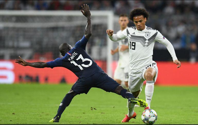 Confirman por qué Leroy Sané abandonó la concentración alemana