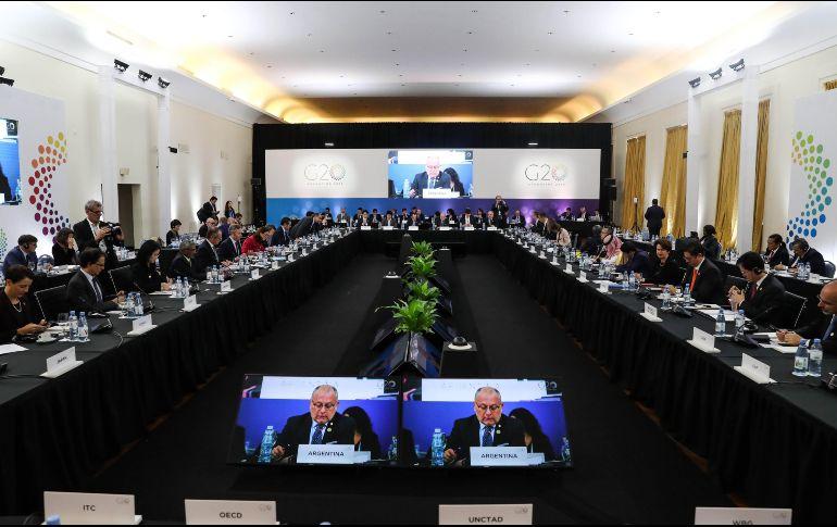 G20 apuesta al comercio abierto para superar crisis