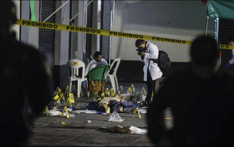 Balacera en Garibaldi deja al menos tres muertos