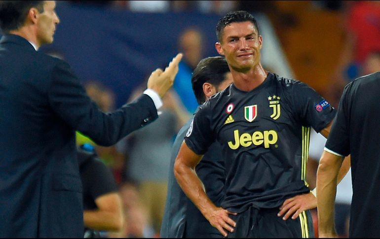 Cristiano Ronaldo puede afrontar una dura sanción tras su expulsión