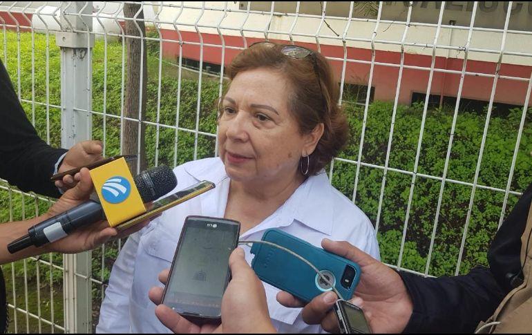Guadalupe Aguilar, una de las representantes de Fundej, aseguró que ellas cada semana acuden a revisar que los cuerpos cuenten con sus registros correctos. EL INFORMADOR / S. Blanco