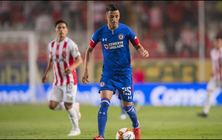 Cauteruccio juega y marca con la Sub-20 del Cruz Azul