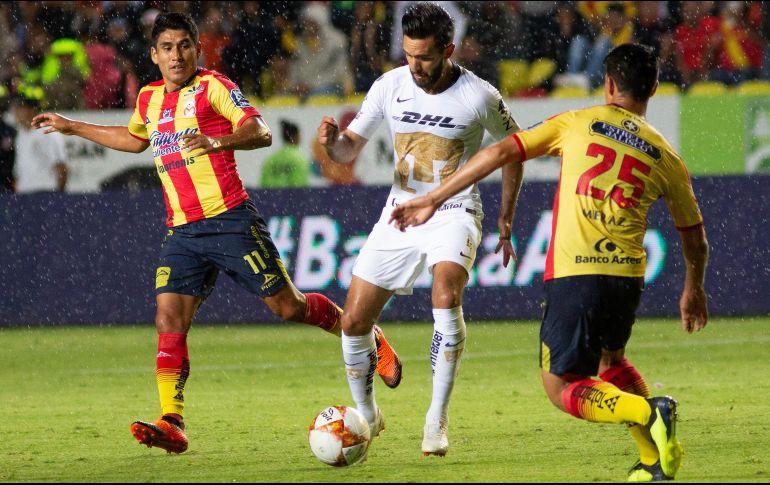 Monarcas vs Pumas se suspende por tormenta eléctrica