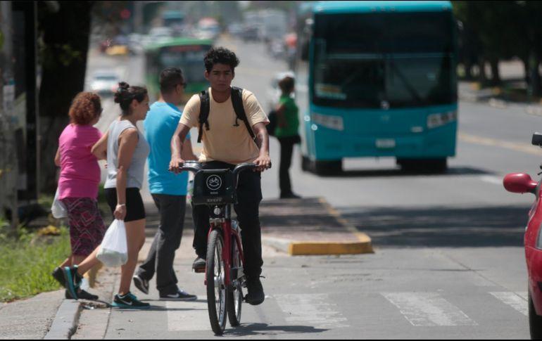 Actualmente, Guadalajara tiene 224.8 kilómetros de infraestructura ciclista. EL INFORMADOR/Archivo