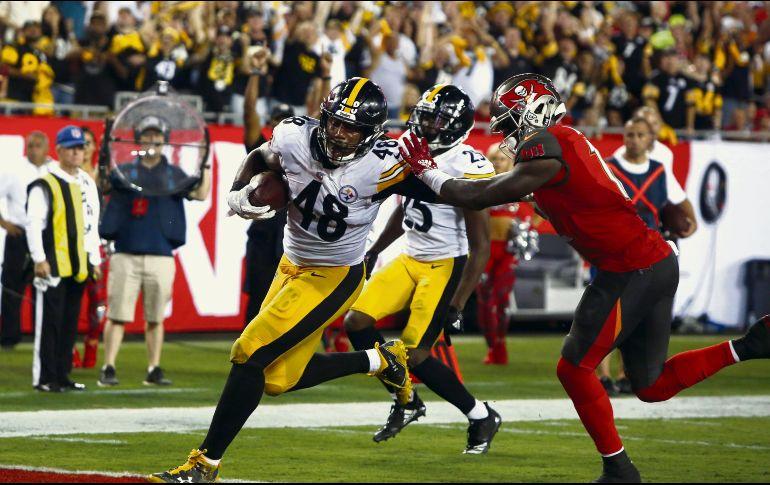 Los Steelers ganan en un partido sufrido